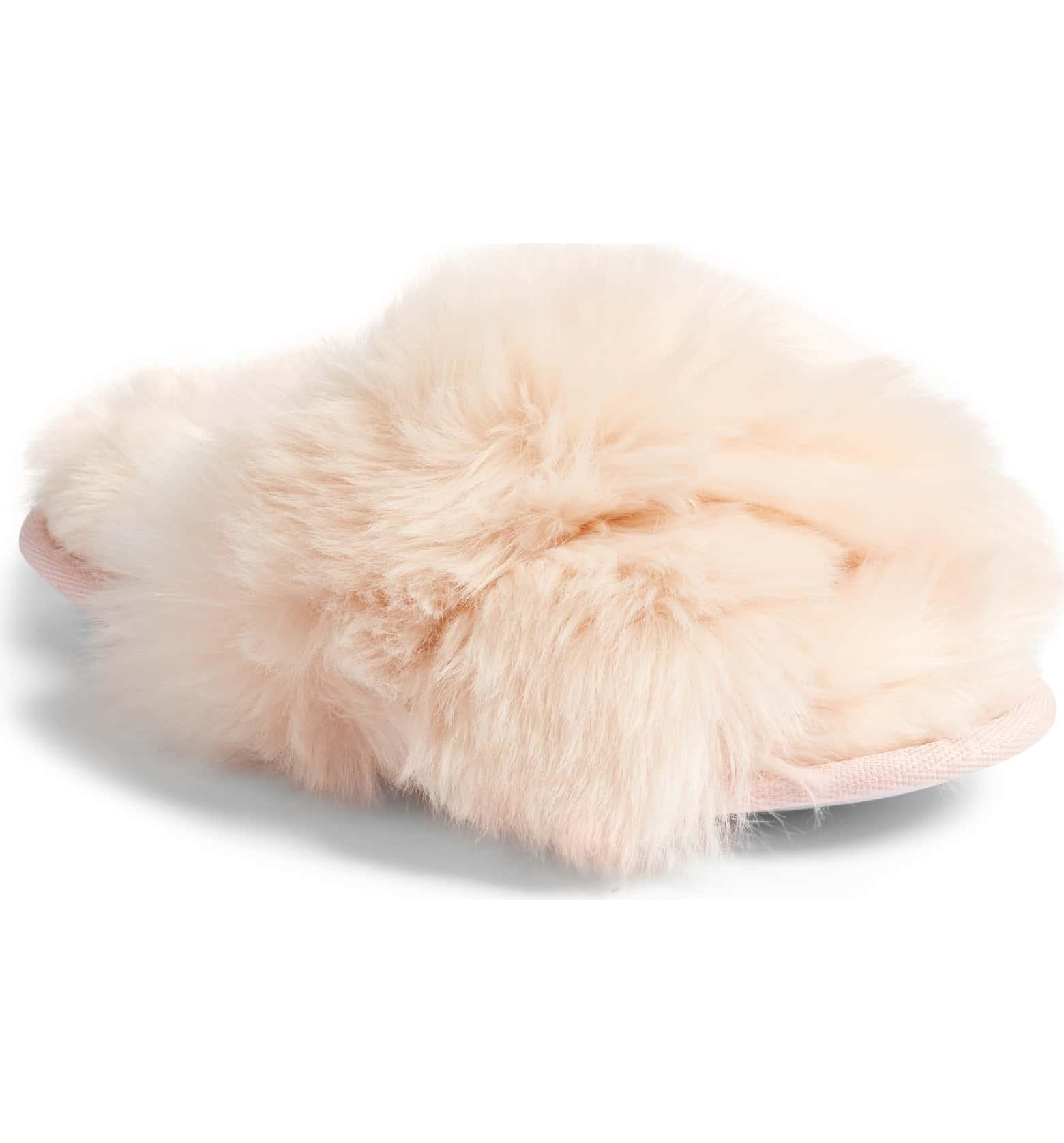 Cuddle Plush Faux Fur Scuff Slipper by Make + Model