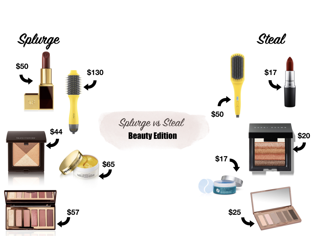 Splurge vs Steal: Beauty Edition